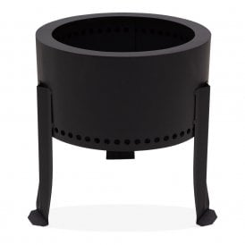 Black Cold Rolled Steel Fire Pit
