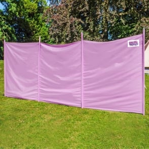 Boutique Camping Windbreaker - Pastal Lilac