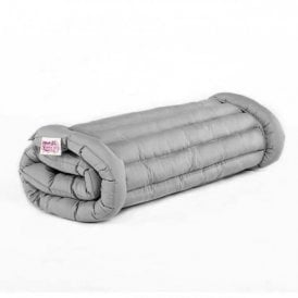 Boutique Roll Up Oxford Camping Bed - Grey