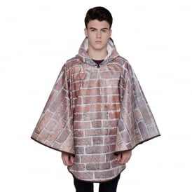 Bricks & Mortar Brick Wall Poncho
