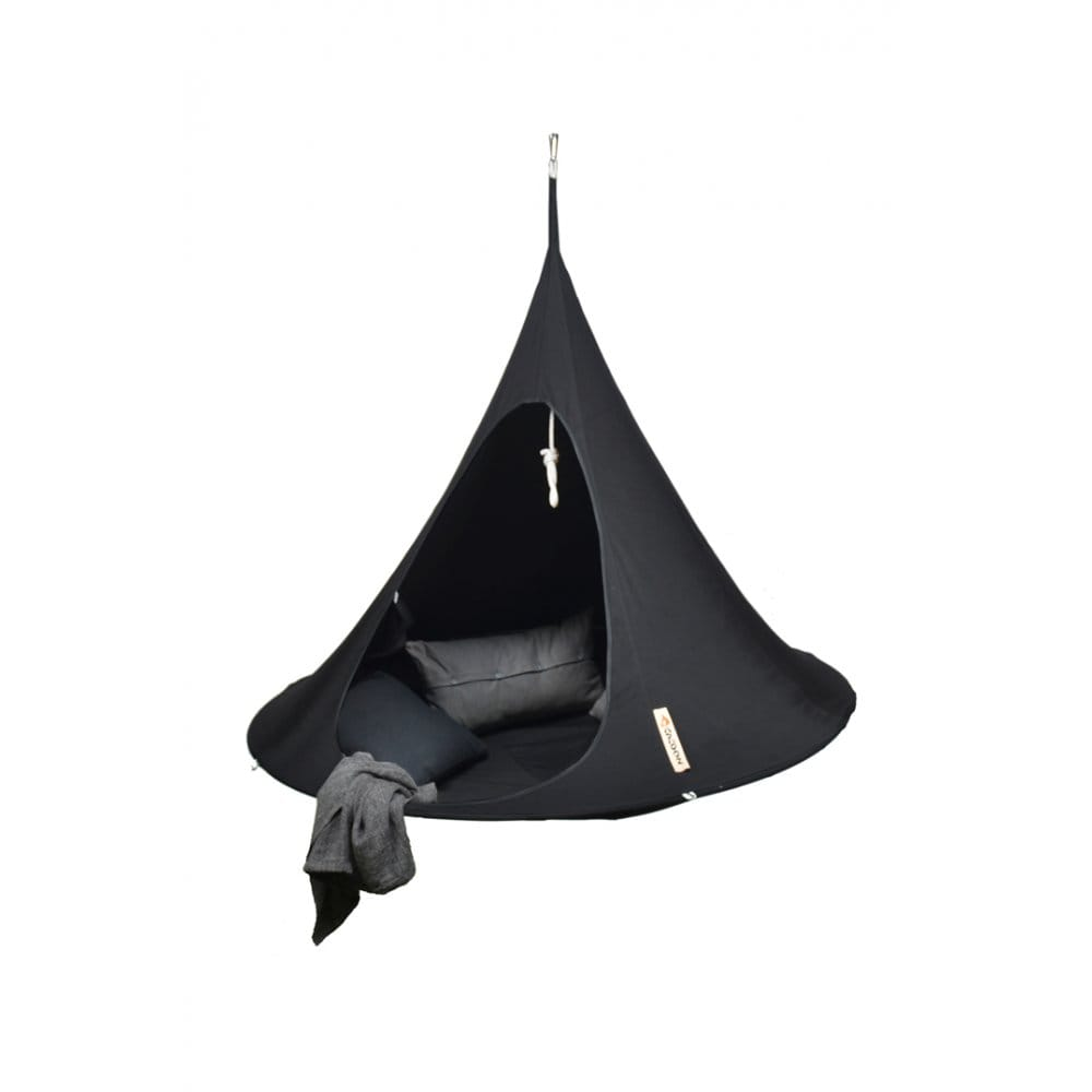 Cacoon Hanging Chair - Black - Cacoon from Boutique Camping UK