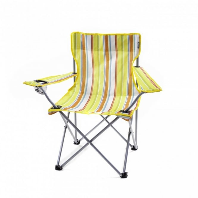 Awesome Camping Chairs Quickseat Yellow Stripe Onthecornerstone Fun Painted Chair Ideas Images Onthecornerstoneorg