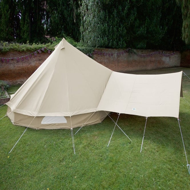Canopy Awning for Bell Tent - Sandstone