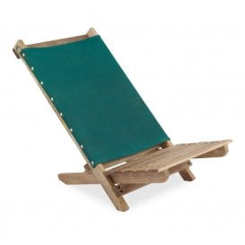 Canvas Deck Chair - Green