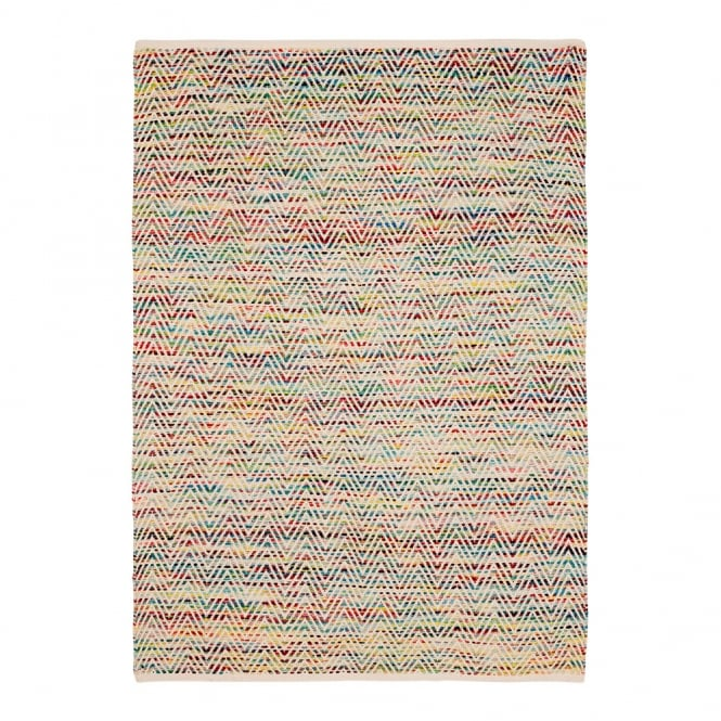Chevron Multi Colour Rug