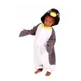 Childrens Animal Onesie - Penguin