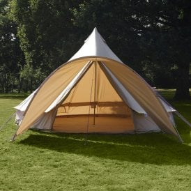Curved Canopy for Bell Tent - Sandstone (2m Wide)