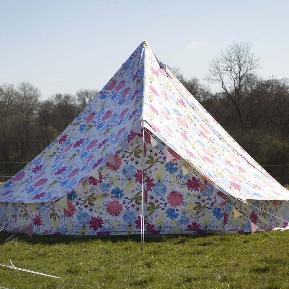 Flower Bell Tent Boutique Camping