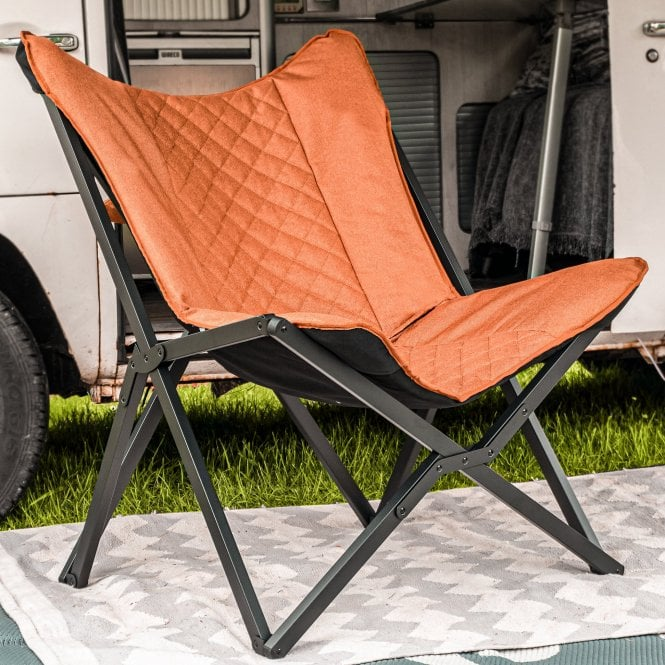 Foldable Camping Chair - Tan