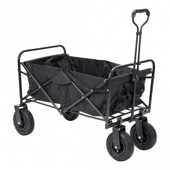Folding Black Wagon - Black