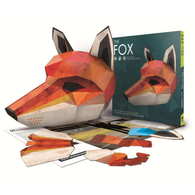 Fox Mask Illustrated Book