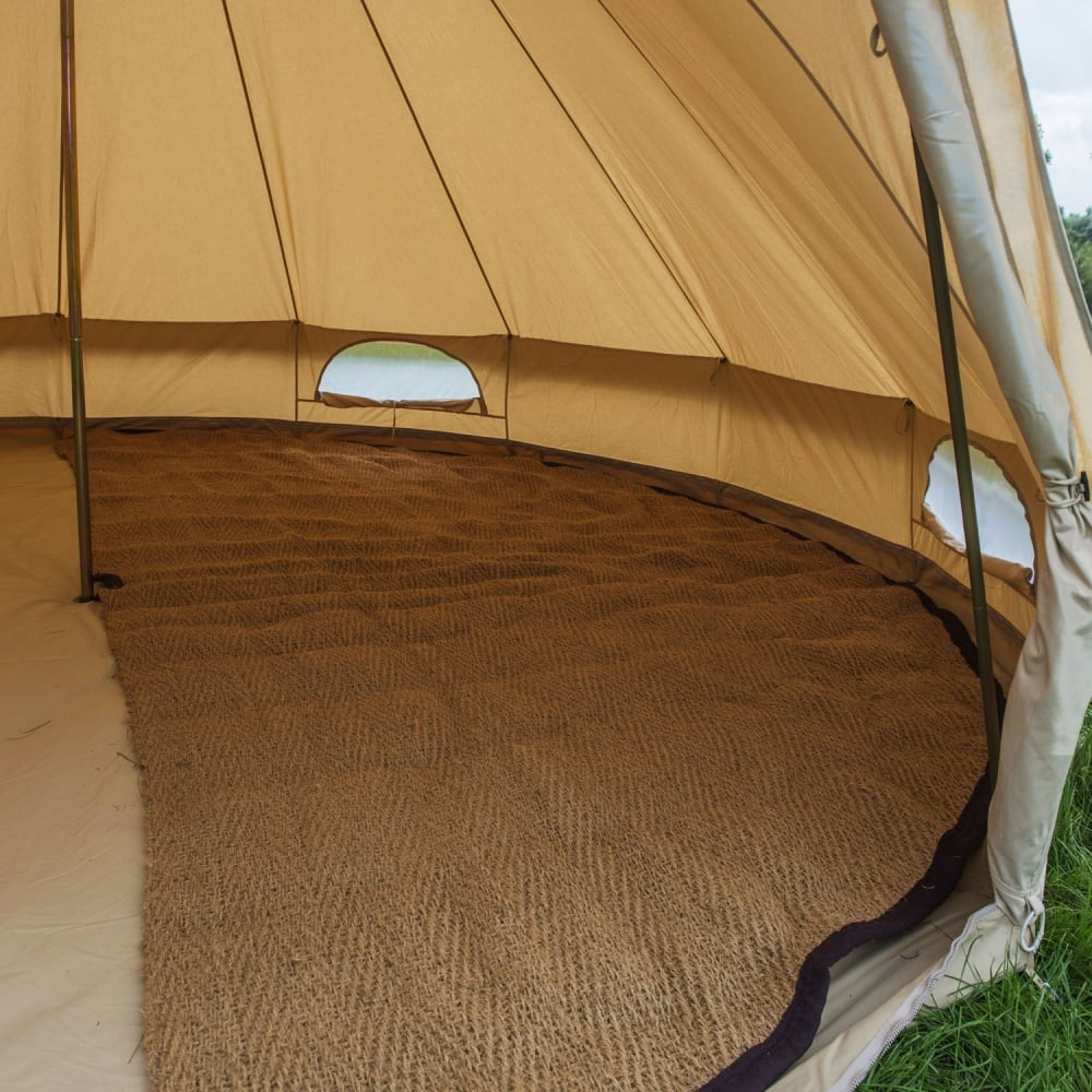 Half Moon Bell Tent Coir Matting Products From Boutique