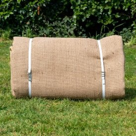 Boutique Camping Half Moon Tent Jute Matting