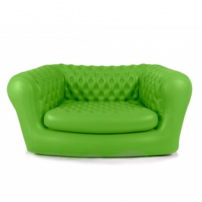 Inflatable Tent Furniture: Inflatable Green ChestAIRfield Sofa