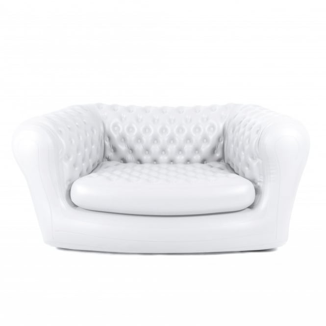 Inflatable White ChestAIRfield Sofa