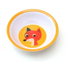 Ingela P Arrhenius Fox Melamine Bowl - Orange
