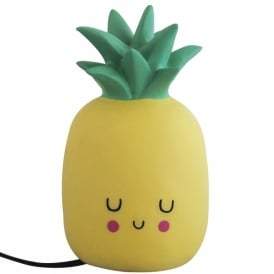 Kawaii Style LED Pineapple Table Lamp, Yellow