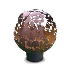 Leaf Sphere Fire Pit