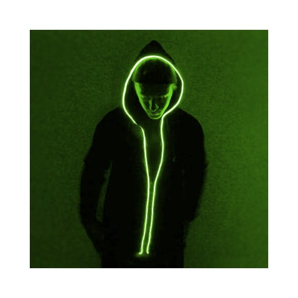 Neon strobe light hoodies might be the best party garb ever - Lost At