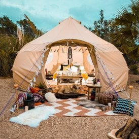 Boutique Camping Luna Bell Tent - Canvas