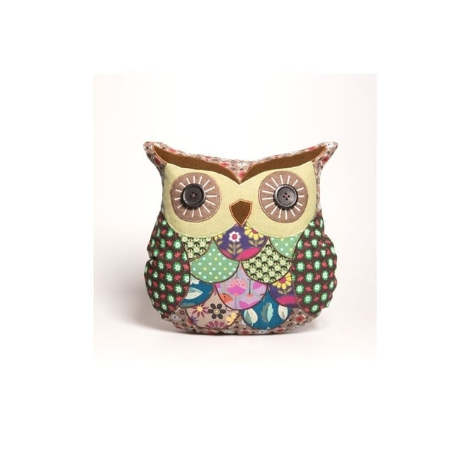 Mabel Wise Owl Cushion