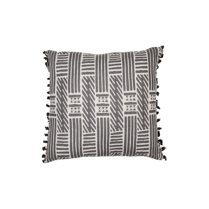 Malini Swahili Cushion Black