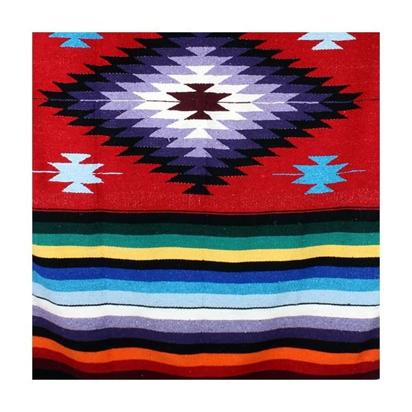 Mexican Rug Images: Mexican Diamond Blanket Rug