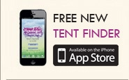 Free New Tent Finder App