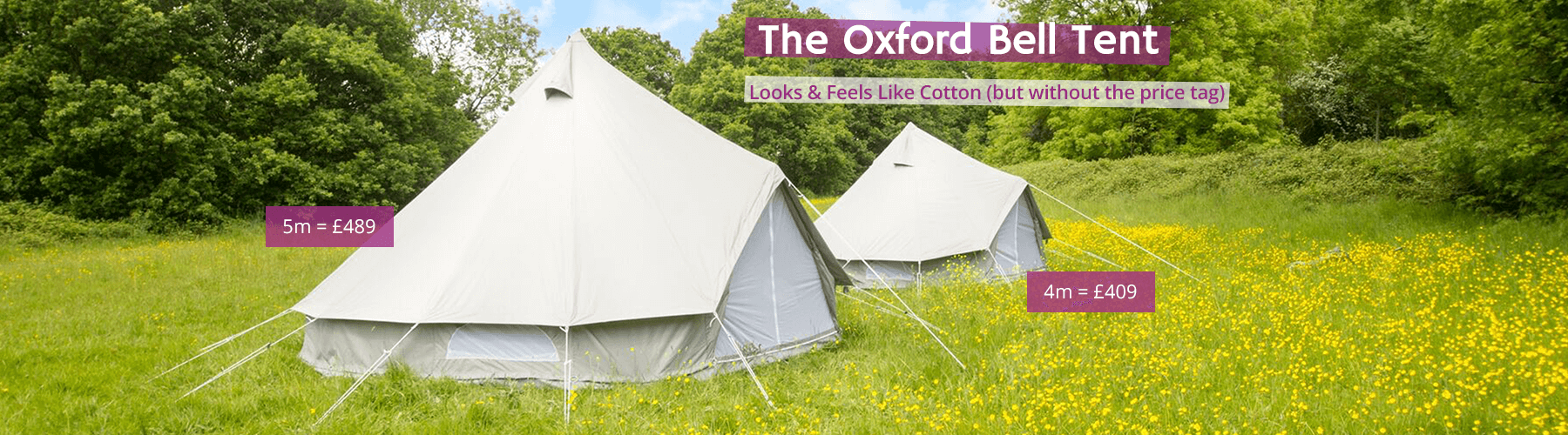 Oxford Bell Tents