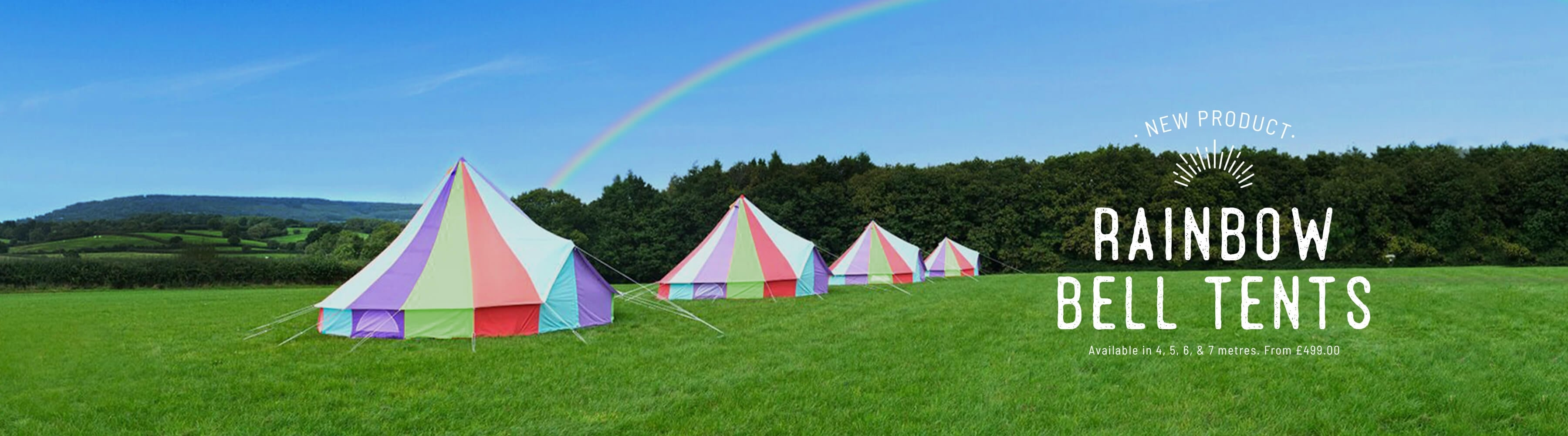 Rainbow Bell Tents & Bell Tents Luxury Family Tents u0026 Glamping Products