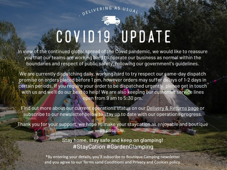 Covid19 Update Pop-up