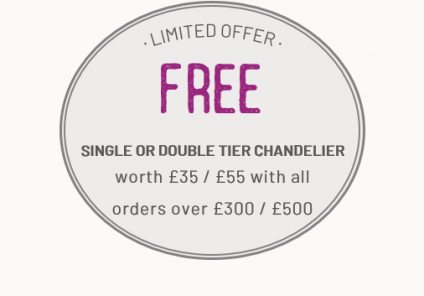 Free Chands Over £300 / £500