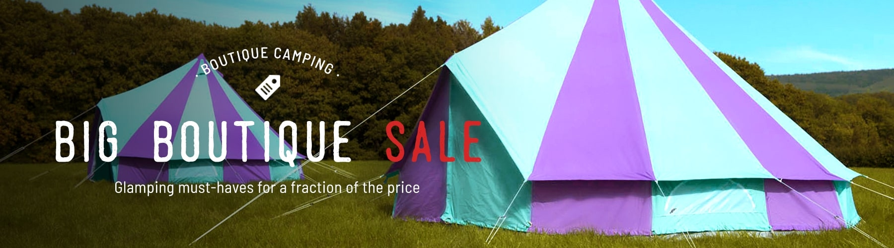 Homepage Sale Banner