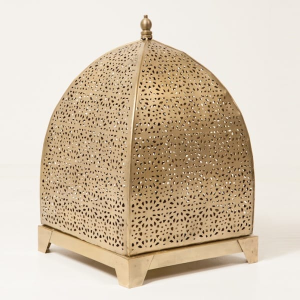 Moroccan Large Cloche Lantern Gold