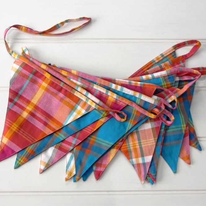 Moroccan Spice Striped Bunting
