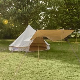 Boutique Camping Tents Multi-Purpose Canopy for Bell Tent - Sandstone