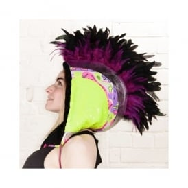 Neon Yellow Mohawk FuudHood
