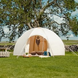 Bell Tent Nova Air Dome Tent - Canvas Lite 200gsm