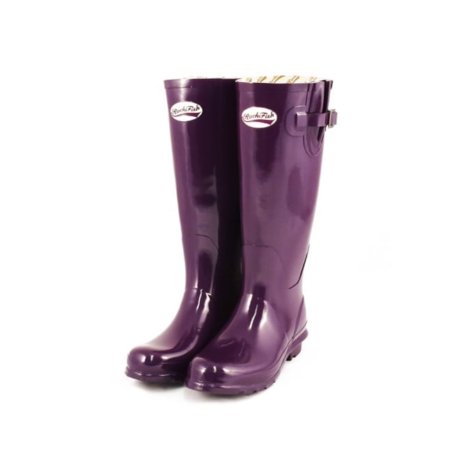 Original Gloss Acai Purple Wellies