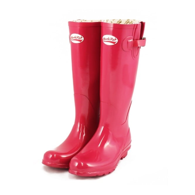 Original Gloss Vivacious Pink Wellies
