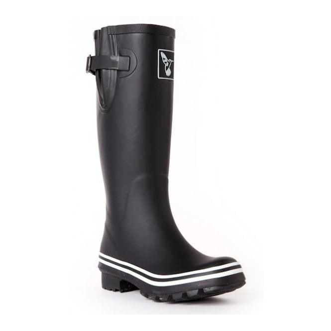 Plain Black Wellies