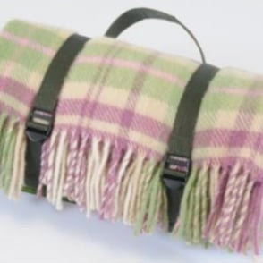 Tweedmill Polo Picnic Rug - Cottage Pink