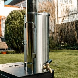 Boutique Camping Portable Woodburning Stove Water Heater