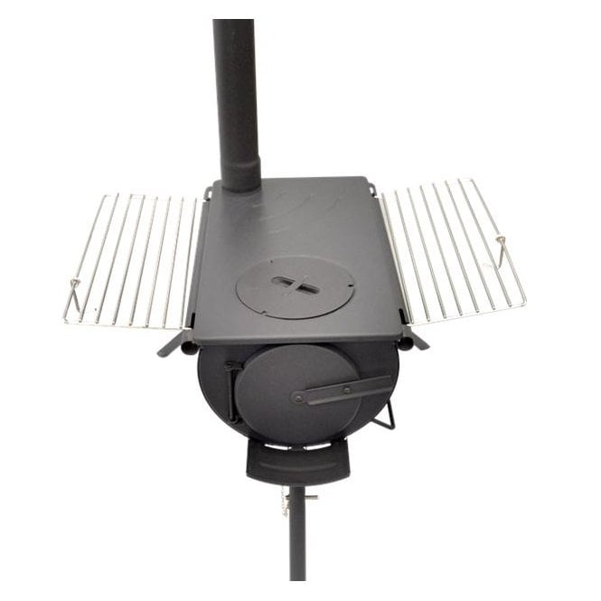 Portable Woodburning Stove with Grill