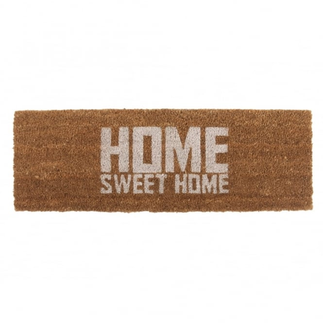 Present Time Home Sweet Home Doormat - White