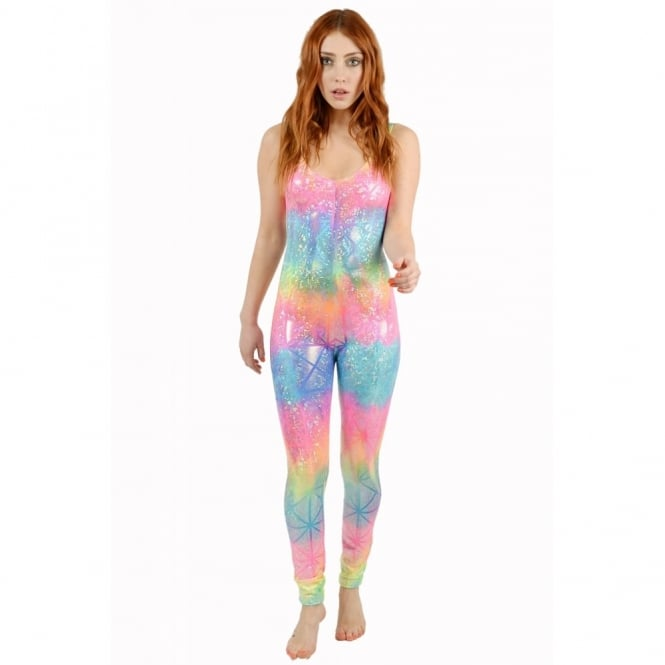 Rainbow Diamond Catsuit