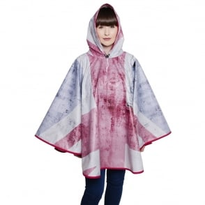 FieldCandy Rule Britannia Union Jack Poncho