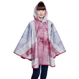 Rule Britannia Union Jack Poncho
