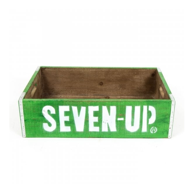 Seven Up Vintage Style Crate