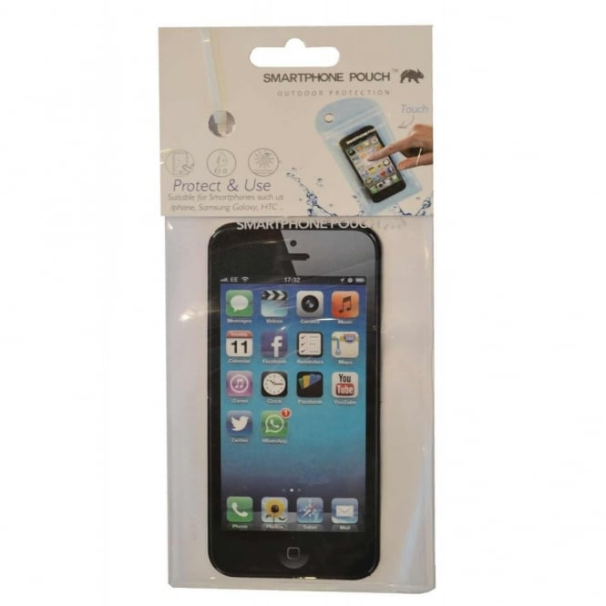 Smartphone Protective Pouch - Clear